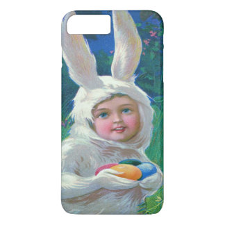 Cute Girl Easter Bunny Costume Field iPhone 7 Plus Case