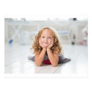 Cute Girl Image Postcard
