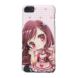 Cute girl in kawaii pink lolita dress iPod touch (5th generation) cover