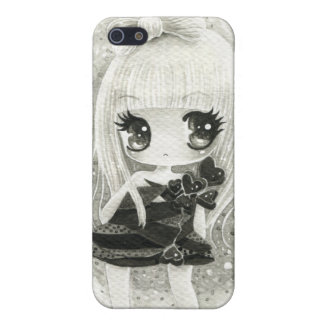 Cute girl in Lady Gaga style iPhone 5 Cases