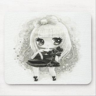Cute girl in Lady Gaga style Mousepad