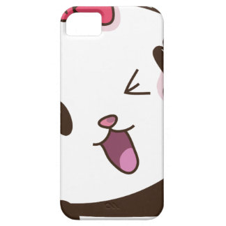 Cute girl panda OK! Case For The iPhone 5
