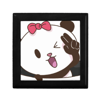 Cute girl panda OK! Gift Box