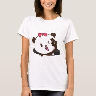 Cute girl panda OK! T-Shirt