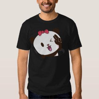 Cute girl panda OK! Tshirt