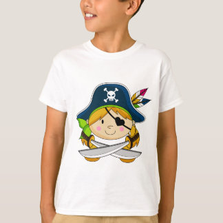 Cute Girl Pirate T-Shirt