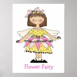 Cute Girl's Fairy Print