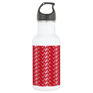 Cute Girly Abstract Floral Print 532 Ml Water Bottle
