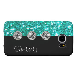 Cute Girly Bling Galaxy S6 Case