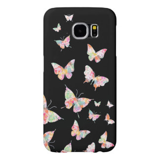 Cute Girly Butterflies Samsung Galaxy S6 Cases