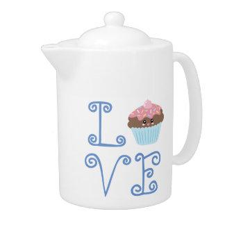 Cute Girly Colorful Kawaii Sweet Love Cupcake