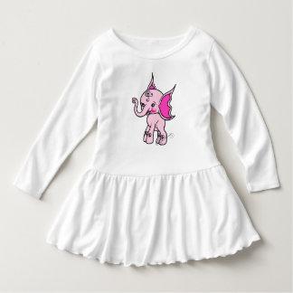 Cute Girly Elephant Pink T Shirt