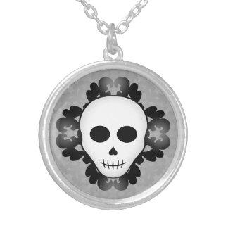 Cute girly gothic glam skull Halloween Jewelry