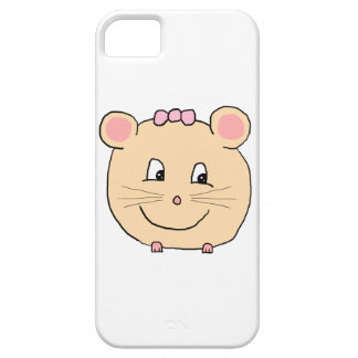 Cute Girly Mouse. Case For The iPhone 5