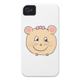 Cute Girly Mouse. Case-Mate iPhone 4 Case