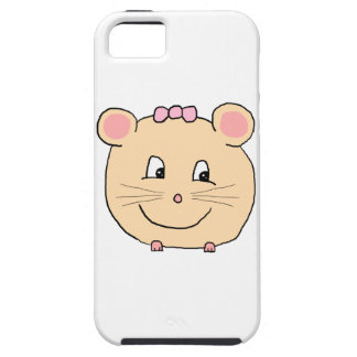 Cute Girly Mouse. Tough iPhone 5 Case