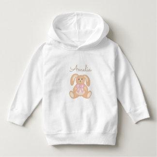 Cute Girly Sweet Adorable Baby Bunny Rabbit Girls Hoodie
