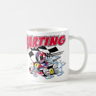 Cute Go Kart Mug