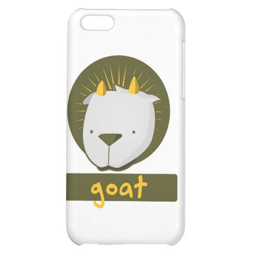 cute goat cover for iPhone 5C