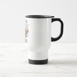 Cute Goat Picture Pygmy Goats Stainless Steel Travel Mug