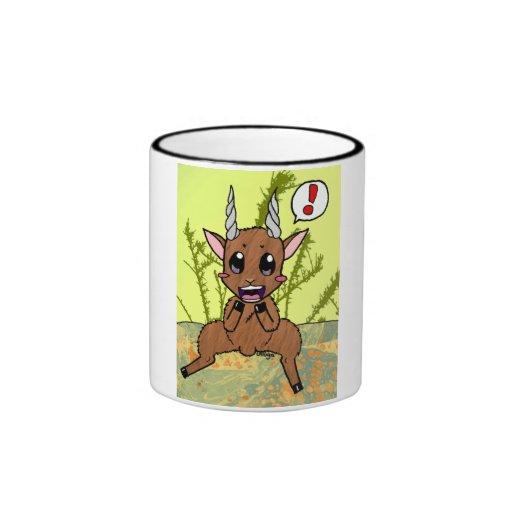 Cute Goat Ringer Mug