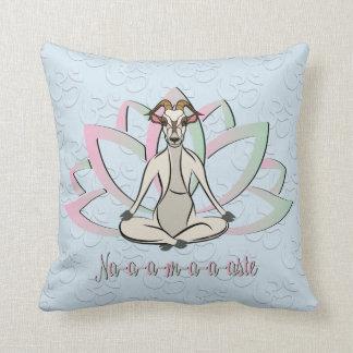 CUTE GOAT YOGA | Namaste GetYerGoat™ Cushion