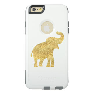 cute golden elephant OtterBox iPhone 6/6s plus case
