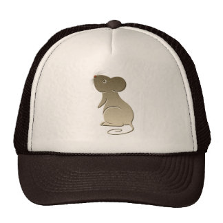 Cute Golden Mouse Hat