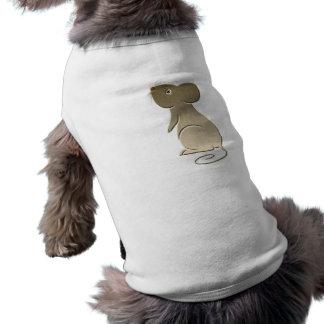 Cute Golden Mouse Dog Tee Shirt