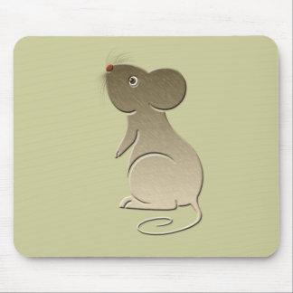 Cute Golden Mouse Mouse Mat