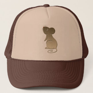Cute Golden Mouse Trucker Hat