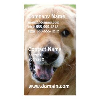 Cute Golden Retriever Business Cards
