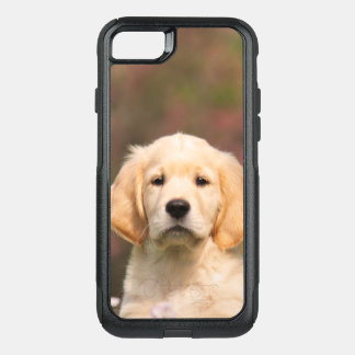 Cute Golden Retriever Dog Puppy Pet Animal - on OtterBox Commuter iPhone 7 Case