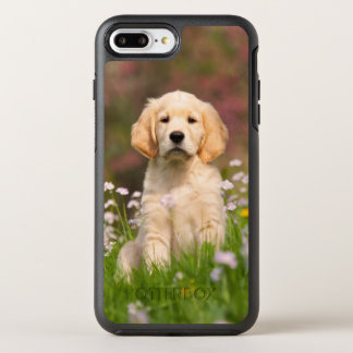 Cute Golden Retriever Dog Puppy Photo - Protection OtterBox Symmetry iPhone 8 Plus/7 Plus Case