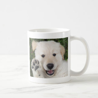Cute Golden Retriever pup Coffee Mug