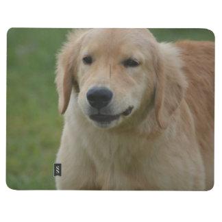 Cute Golden Retriever Puppy Journal