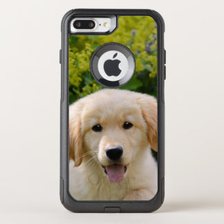 Cute Goldie Retriever Dog Puppy Animal Photo - on OtterBox Commuter iPhone 8 Plus/7 Plus Case