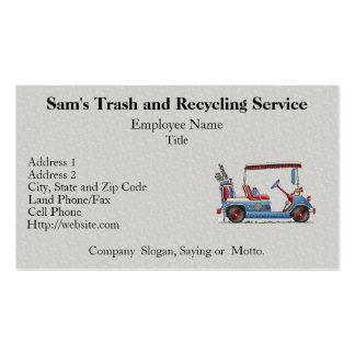 Cute Golf Cart Pack Of Standard Business Cards