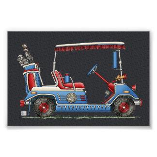 Cute Golf Cart Photo