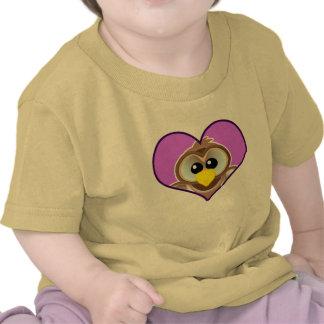 Cute Goofkins owl heart Shirt