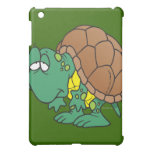 cute goofy cartoon turtle character case for the iPad mini