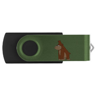 Cute gorilla USB flash drive