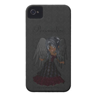 Cute Gothic Angel BlackBerry Bold Personalized iPhone 4 Cases