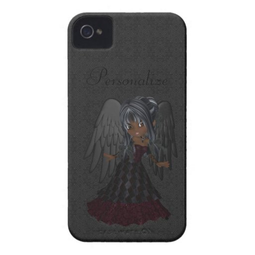 Cute Gothic Angel BlackBerry Bold Personalized Blackberry Case