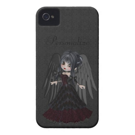 Cute Gothic Angel BlackBerry Bold Personalized Blackberry Bold Case
