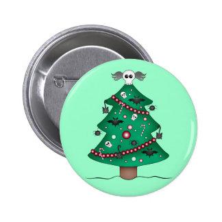 Cute gothic Christmas tree Pin