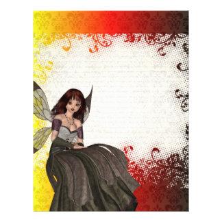 Cute Gothic fairy Flyer Design
