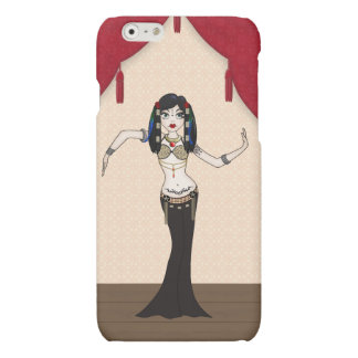 Cute Gothic Tribal Fusion Bellydancer iPhone 6 Plus Case