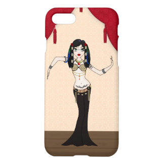 Cute Gothic Tribal Fusion Bellydancer iPhone 7 Case