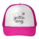 CUTE GOTTA SING PINK CAP